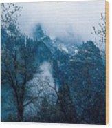 Yosemite Clouds I Wood Print