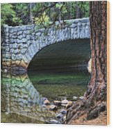 Yosemite Creek Wood Print