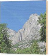 Yosemite Falls Again Wood Print