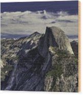 Yosemite Granduer Wood Print