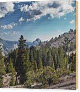 Yosemite Half Dome 0796 Wood Print