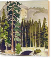 Yosemite II Wood Print
