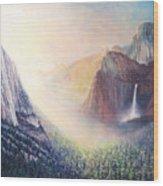 Yosemite Morning Wood Print