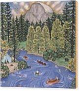 Yosemite National Park Wood Print