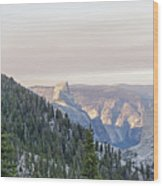 Yosemite Sunrise Wood Print