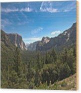 Yosemite Valley 3 Wood Print