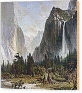 Yosemite Valley, C1860 Wood Print