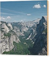 Yosemite Valley Wood Print by Photo by Lars Oppermann