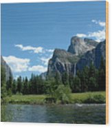 Yosemite Valley View X Wood Print