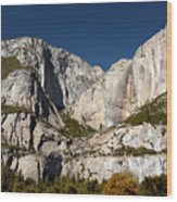 Yosemite View Wood Print