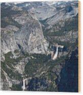 Yosemite Washburn Point Wood Print