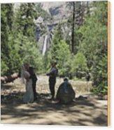 Yosemite Wedding  Wood Print