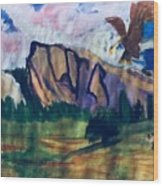 Yosemite Wildlife Wood Print