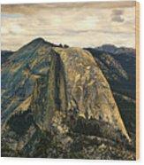 Yosemite X Wood Print