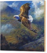 You Cannot Fly Like An Eagle With Wings Of A Wren Wood Print