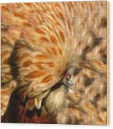 You Chicken  Wood Print