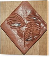 You Hear - Tile Wood Print