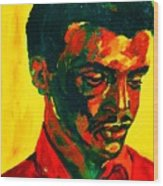 Young African Man Wood Print