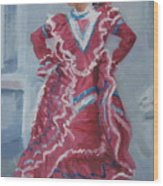 Young Dancer At Arneson Theater Wood Print