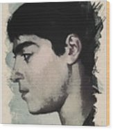 Young Faces From The Past Series By Adam Asar, No 14 Wood Print