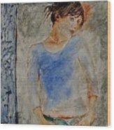 Young Girl 451120 Wood Print