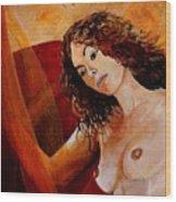 Young Girl  5641 Wood Print