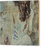 Young Girl  64 Wood Print