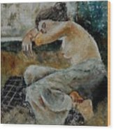Young Girl  679050 Wood Print