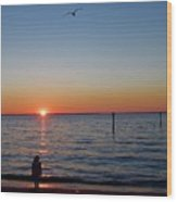 Huntington Beach Wood Print