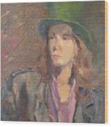 Young Irish Man Wood Print