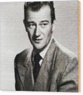 Young John Wayne, Hollywood Legend Wood Print