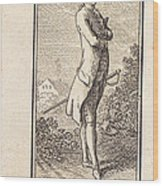 Young Man Bareheaded, With Sword Wood Print