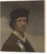 Young Man In A Fur Cap Wood Print