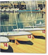 Young Mariner II Wood Print by Wendy Mogul