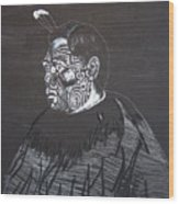 Young Tane Wood Print