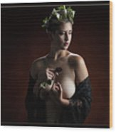 Young Woman Nude 1729.180 Wood Print