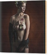 Young Woman Nude 1729.181 Wood Print