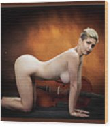 Young Woman Nude 1729.193 Wood Print
