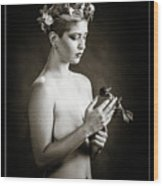Young Woman Nude 1729.550 Wood Print