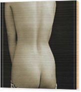 Young Woman Nude 1729.557 Wood Print