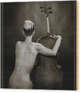 Young Woman Nude 1729.565 Wood Print