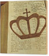 Your God Reigns Wood Print