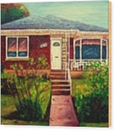 Your Home Commission Me Wood Print