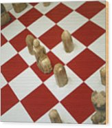 Your Move Wood Print