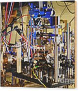Ytterbium Lattice Atomic Clock Wood Print