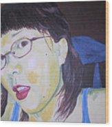 Yuka Wood Print