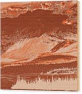 Yukon Mountain Range 5 Wood Print