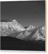 Yukon Volcano Wood Print