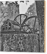 Yulee Sugar Mill Ruins Hrd Wood Print