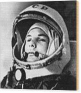 Yuri Gagarin 1934-1968., Russian Wood Print by Everett